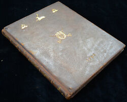 Antique Book-the Chase-bewick-somervile-1796 First Edition
