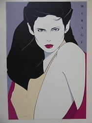 Patrick Nagel - Mirage - Hand Signed And Numbered - 1980 - 81/250