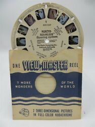 View Master Rare Commercial Reel 1967 Flecto Seamless Flooring System Oakland