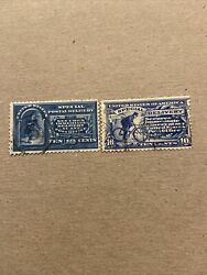 Us Stamp Scott E5-e6...ten Cent Special Delivery 1895 ..used