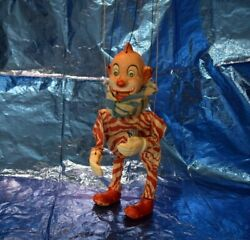Howdy Doody - Clarabell The Clown - Vintage Antique Marionette