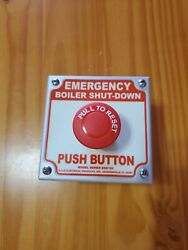 Emergency Boiler Shut-down No Contacts Included.