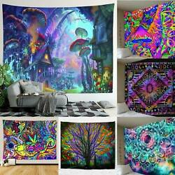Tapestry Printed Wall Hanging Bedspread Cover Hippie Mandala Blanket Home Decor