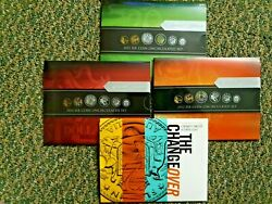 2012 2013 2014 2016 Six 6 Coins Uncirculated Mint Coin Set - Ram Issue