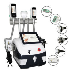 3 Handles Double Chin Fat Reduceing Cold Slimming Cellulite Machine Body Spal