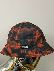 New Grizzly Griptape Red Bucket Hat One Size $24.99