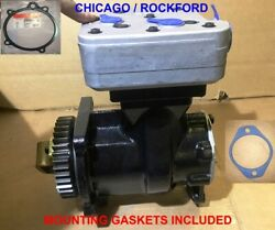 Air Compressor For Cummins Isx Engines Replaces 3104216rx 4318216rx, 9111535100