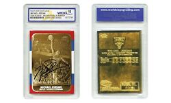 MICHAEL JORDAN 1998 Fleer #x27;86 ROOKIE 23KT Gold Card Rookie Signature Gem Mint 10 $15.95