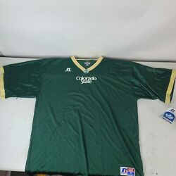 Colorado State Rams Russell Athletics Jersey Mens Size Xl Blank. New With Tags.