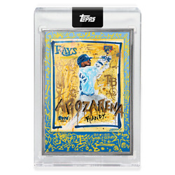 Randy Arozarena 2020 Topps Project X World Series Gregory Siff Ap /58 Rc Silver