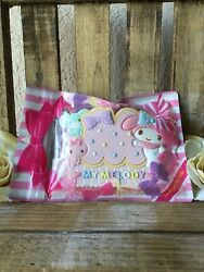 Sanrio 2014 My Melody Large Cookie Like Pastel Color Paper / Notebook Clip Rare