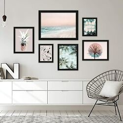 Black Framed 6 Piece Gallery Wall Art Set By Americanflat
