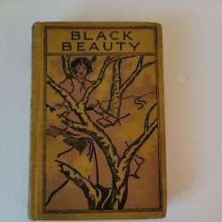 Vintage Rare Black Beauty By Anne Sewell - Ma Donohue - Hardcover Vintage 1920s