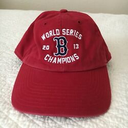 Boston Red Sox '47 Fitted Baseball Cap Hat World Series Champions 2013 Sz Small