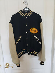 East Stroudsburg State College 1960s Classic Butwin Football Letterman Jacket-