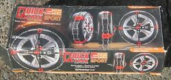 Quality Chain Corp Quick Trak 211 Auto-installing Tire Chains Italy New