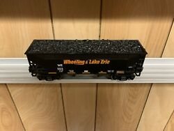 ✅rmt Wheeling And Lake Erie 2 Bay Coal Hopper Car W/ Lionel Type Couplers Wandle