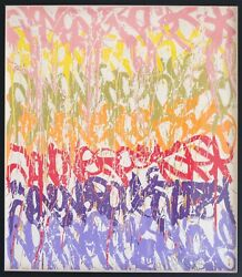 Jonone   The Art Of Fencing   Signed Numbered Print   Sold Out