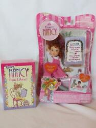 New Fancy Nancy Mini Doll Garden Extravaganza And Petite Library Book Set