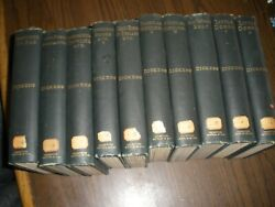 10 Vintage Charles Dickens Hard Cover Books 1890and039s Hard Cover Houghton