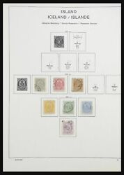 Lot 32630 Stamp Collection Iceland 1876-2014.