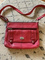 Fossil Handbag Crossbody Genuine Leather new w out tags MSRP $158