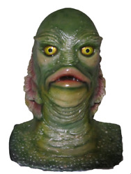 Creature From The Black Lagoon Gill-man 11 Scale Life Size Bust Statue Monsters