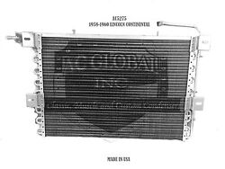 58 59 60 Lincoln Continental 1958 Ac Condenser Oem Ac5275 Made In Usa