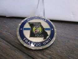 Kansas City Mo Police Department Motorcycle Traffic Unit Challenge Coin 818g