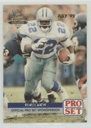 1992 Pro Set National Convention Promos Emmitt Smith Pro002 Hof