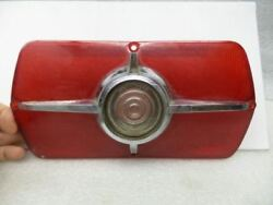Tail Light Lens Only Sedan With Reverse Lamp Vintage Fits 65 Fairlane 16944