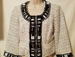 White House Black Market Womenand039s Jacket Size 8 A Real Show Stopper