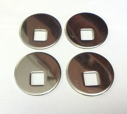 1936-53 Chevy Chevrolet Truck Stainless Steel Bed Off Set 4 Washers