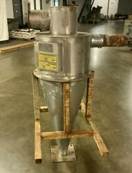 Young Stainless Steel Cyclone Dust Collector Model P-1560 / 58h X 24 Diameter