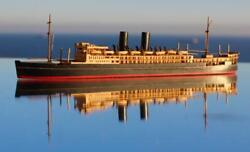 Pando Line Rms Viceroy Of India Model Ship 100'to1 Bassett Lowke Style Ron Hughes
