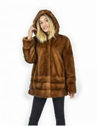 52 Cap Mink Gold Full Mount And Horizontal Bottom And Coat Sleeves