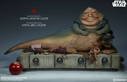 Jabba The Hutt And Throne Star Wars Episode Vi Sideshow Collectibles Nib Sealed