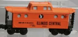 Lionel Illinois Central N5c Porthole Lighted Caboose 6-9160 For Diesel Engine Ic