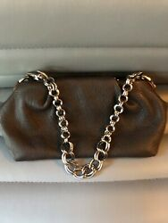 Vera Wang Brown Leather Evening Bags $18.00