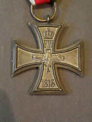 1813 1914 Imperial Germany World War 1 Iron Cross Medal