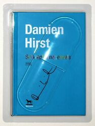 Damien Hirst Signed Sold Out Limited Edition Blister Pack Book.