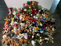 Ty Beanie Babies Lot Of 187 Rare With Tags