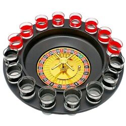Drinking Game Glass Party Roulette Set Spin Shot Stag Hen Drinking Games Adult