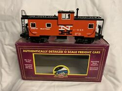 ✅mth Premier New Haven Lighted Extended Vision Caboose 20-91021 O Scale Train