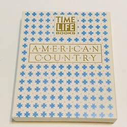 Time Life Books Set Of Three American Country Kitchen Cooking Home 1989