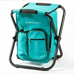 Womens Ultralight Backpack Cooler Chair Compact Lightweight and Portable $63.63