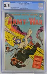 Our Army At War 19 Cgc 8.5 1954 Single Highest Graded Copy