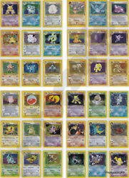 Pokemon Cards Vintage Out Of Print Complete Sets 1996 - 2018 Pre Ex Gx Lv X