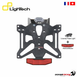 Lightech License Plate Holder A2 With Light And Reflector For Ktm Duke 790 2018
