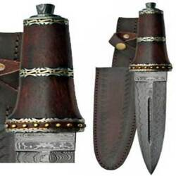 Dirkwod Damascus Athame 13 3/4 Wholesale Wiccan Witchcraft Supply Store